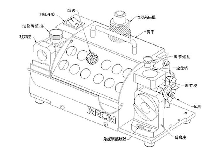 20G钻头机结构图